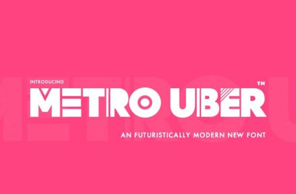 Metro Uber Font