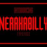Nerakabilly Typeface