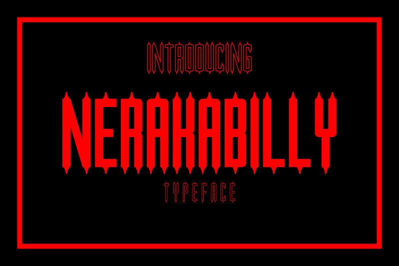 Nerakabilly Typeface-1