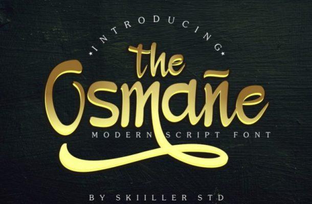 Osmane Script Font