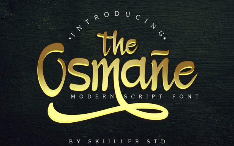 Osmane Script Font-1