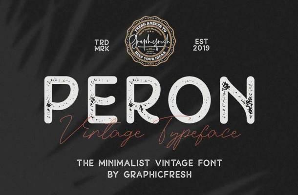 Peron Font Family