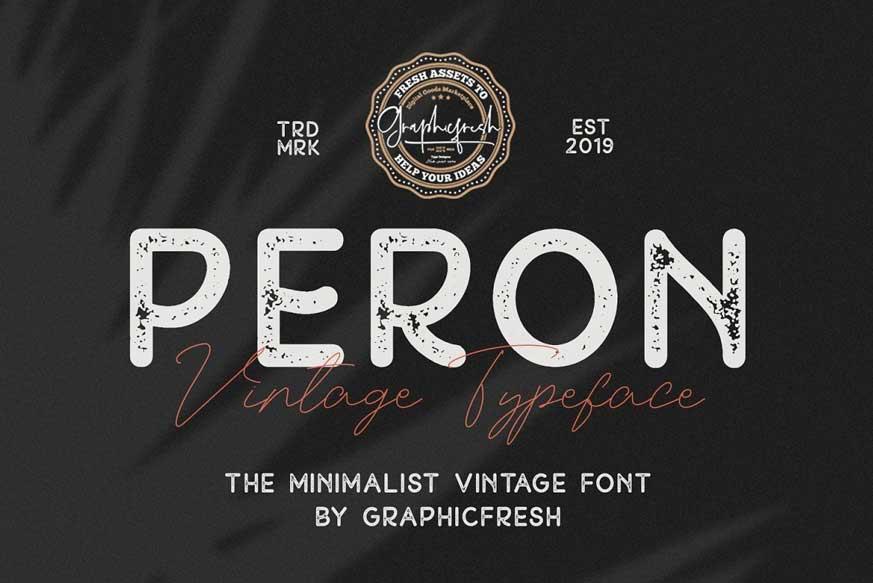 Peron Font Family-1