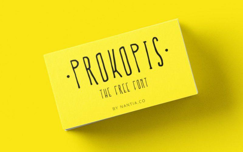 Prokopis Free Font-1