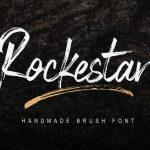 Rockestar Brush Font