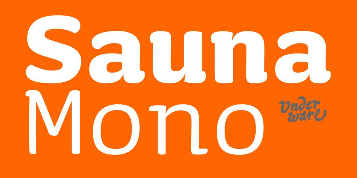 Sauna Mono Pro Font Family-1