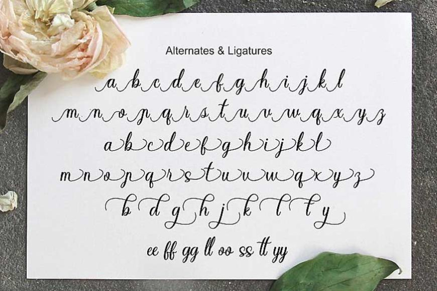 Sayidah Lovely Script Font-4