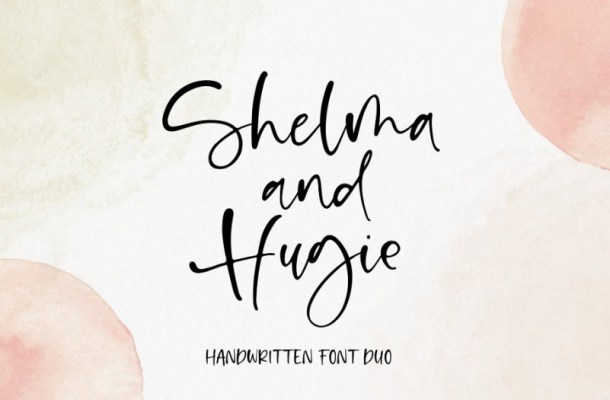 Shelma & Hugie Font Duo