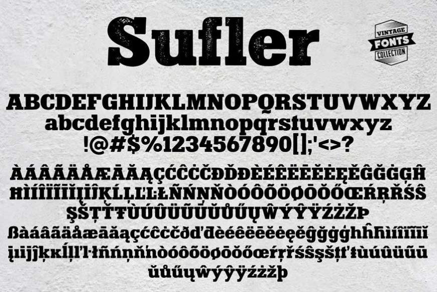 Sufler Font-3