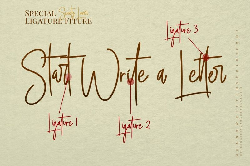 Sweety Lovers Signature Font - Dafont Free