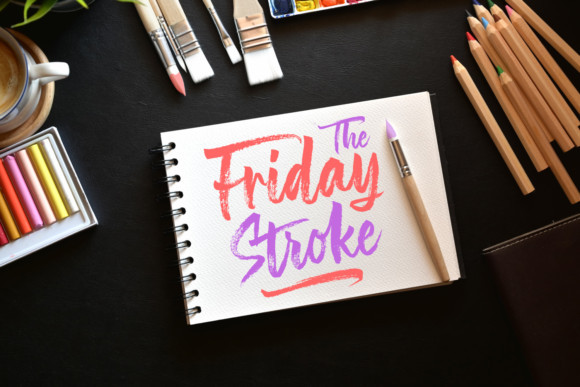 The Friday Stroke Brush Font