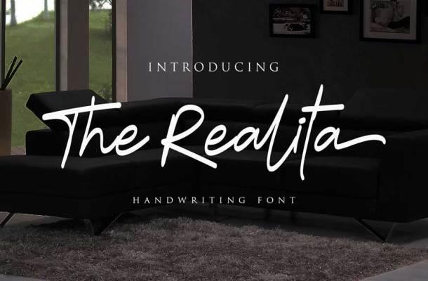 The Realita Font
