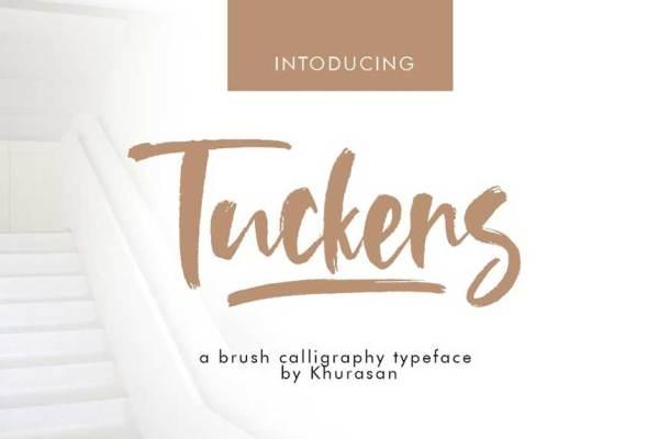 Tuckers Brush Font