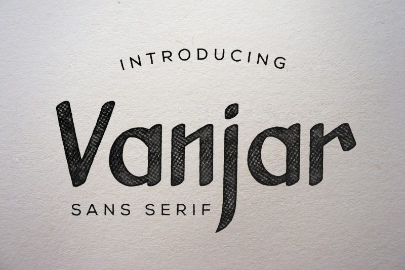 Vanjar Sans Serif Font-1