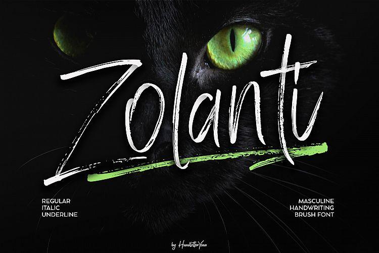 Zolanti Script Font-1