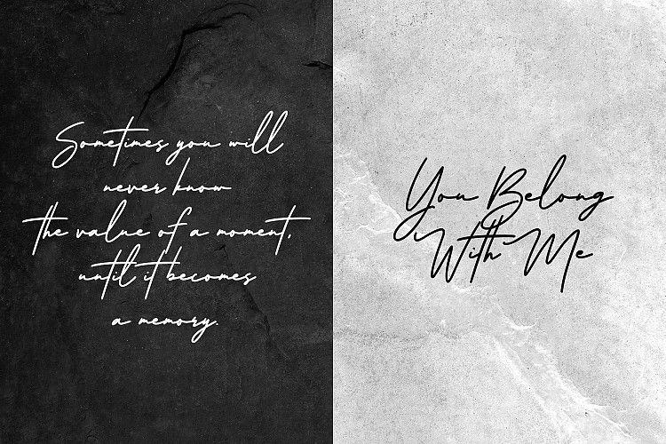 Arlobuns Signature Font-3