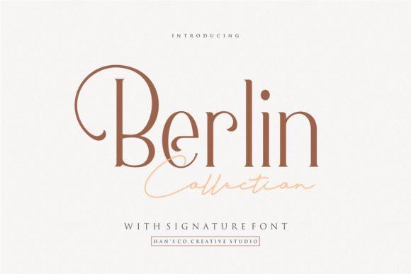 Berlin Serif Font-1