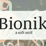Bionik Font Family