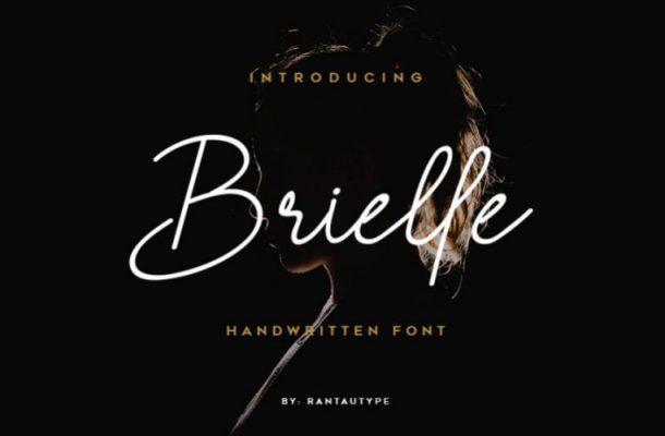 Brielle Handwritten Font