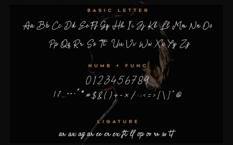 Brielle Handwritten Font-4