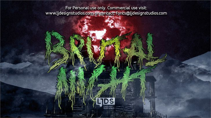 Brutal Night Font-1