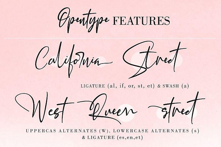 California Street Script Font-2