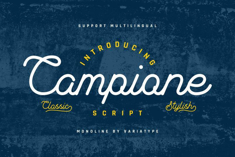 Campione Script Font