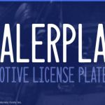 Dealerplate Font Family