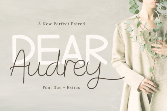Dear Audrey Font Duo