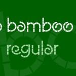 Eco Bamboo Fun Font