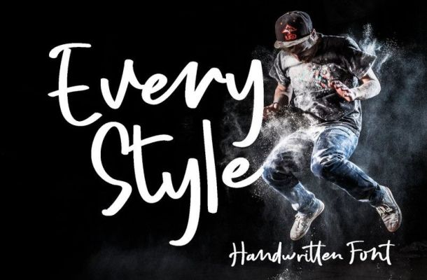 Every Style Script Font