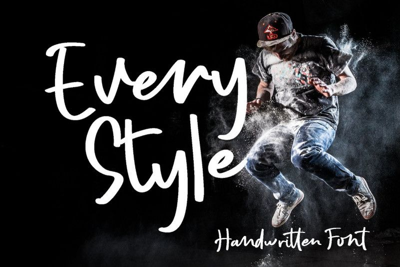 Every Style Script Font-1