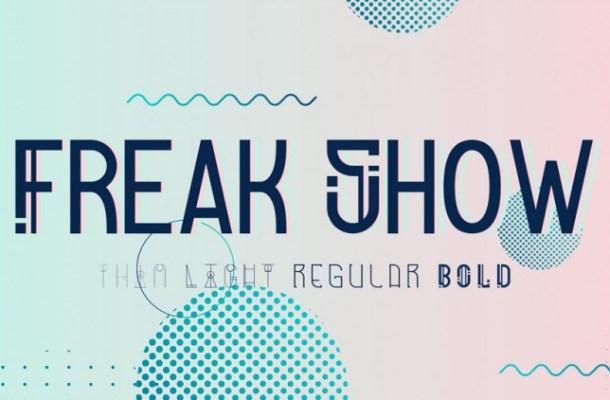 Freak Show Display Font
