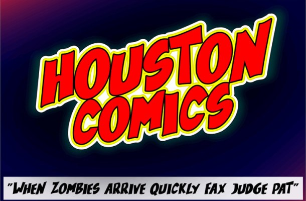 Houston Comics Font
