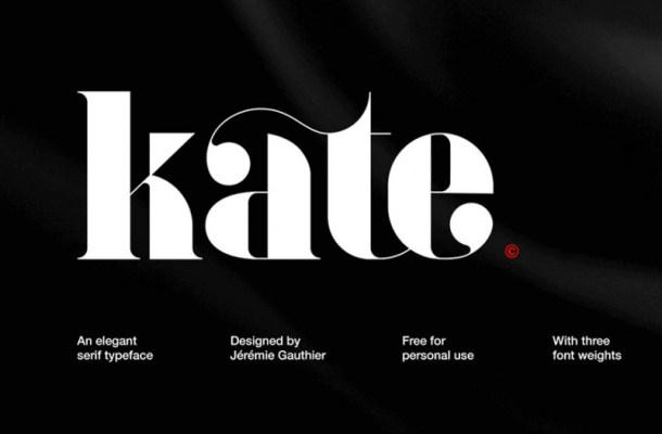 Kate Font Family