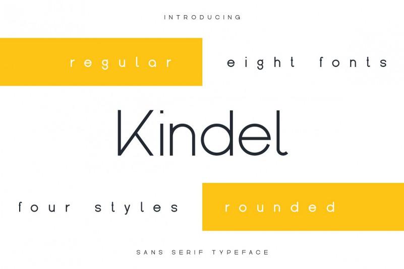 Kindel Sans Serif Font-1