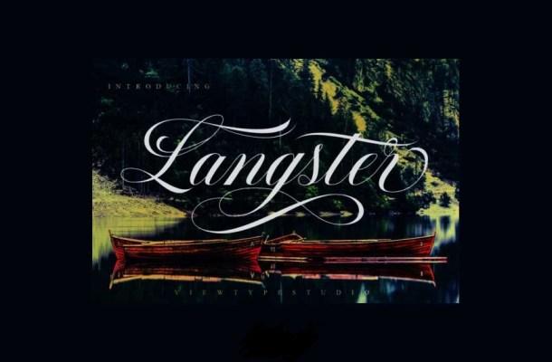 Langster Font