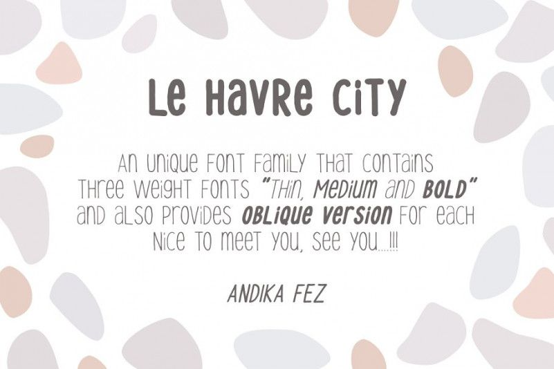 Le Havre City Font Family-1