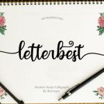 Letterbest Calligraphy Font