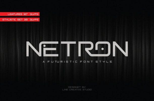 Netron Font