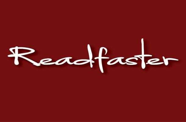 Readfaster Handwritten Font