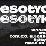 ResotYc Font