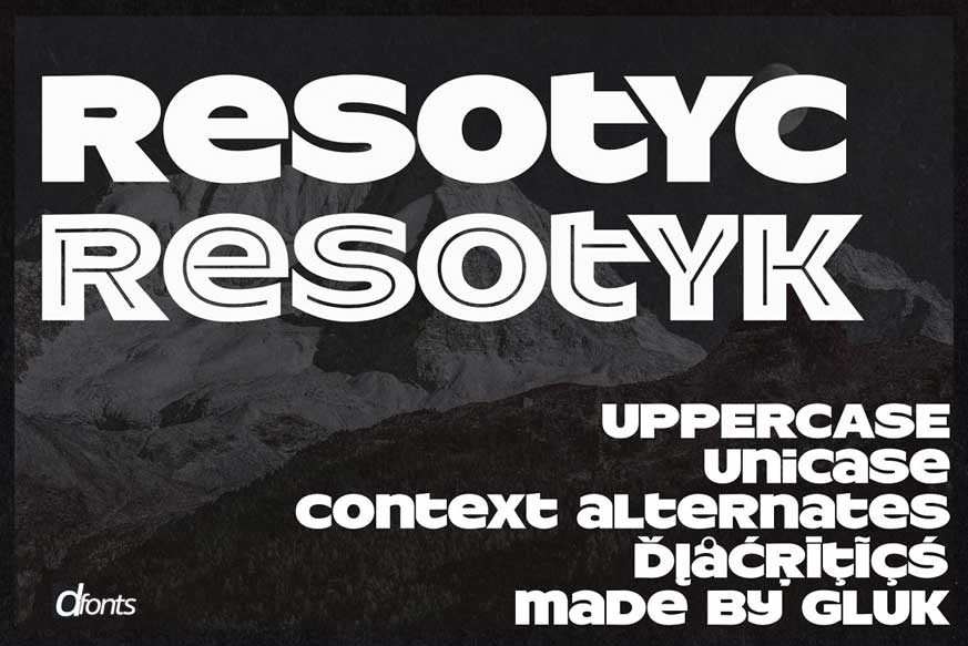 ResotYc Font-1