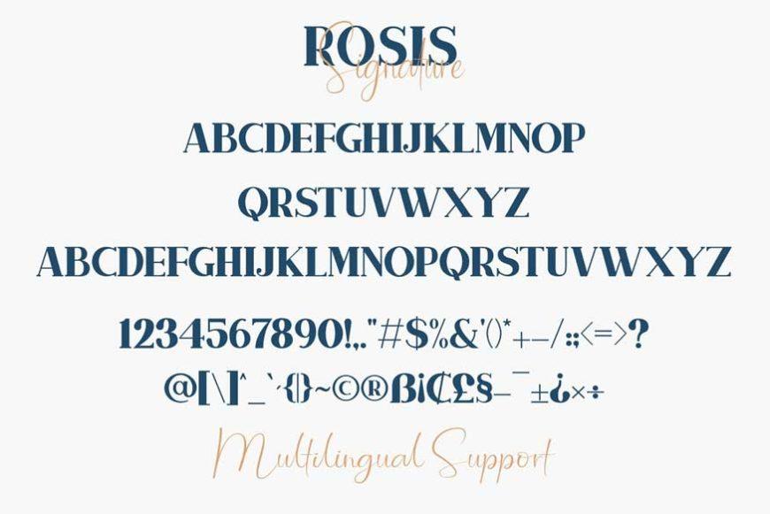 Rosis And Ballroom Font Duo-4