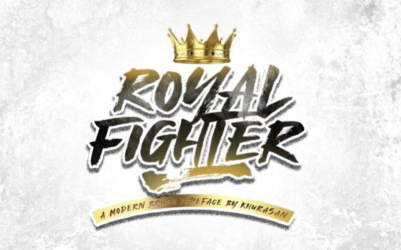 Royal Fighter Display Font-1