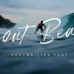 Scout Beach Handwritten Brush Font