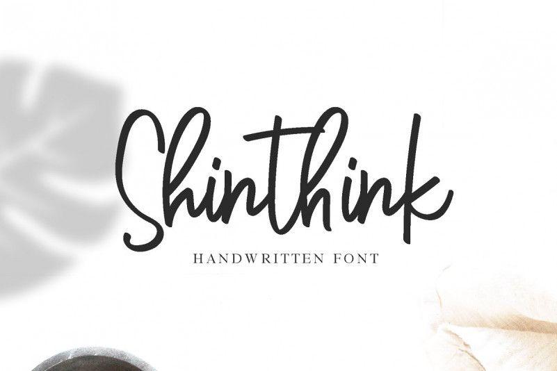 Shinthink Script Font-1