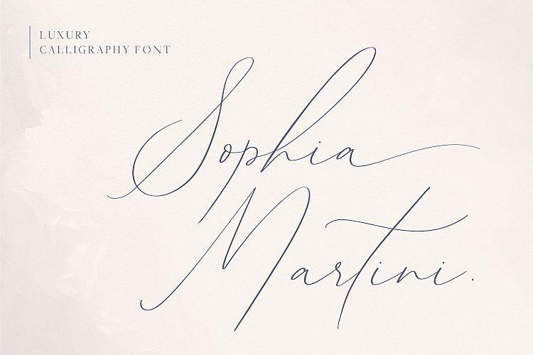 Sophia Martini Handwritten Font-1