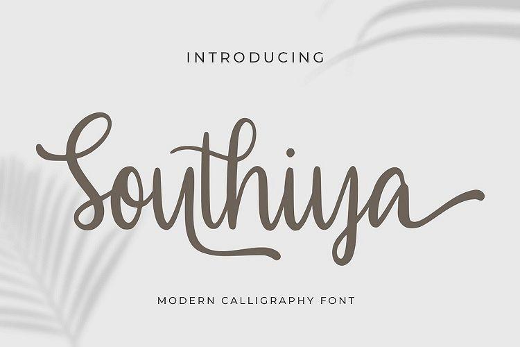 Southiya Script Font-1