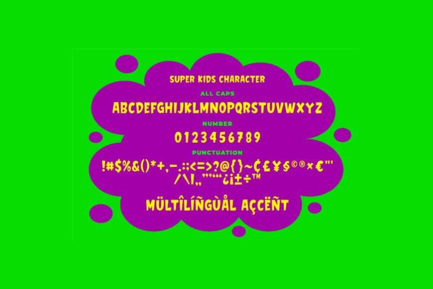 Super Kids Font-3